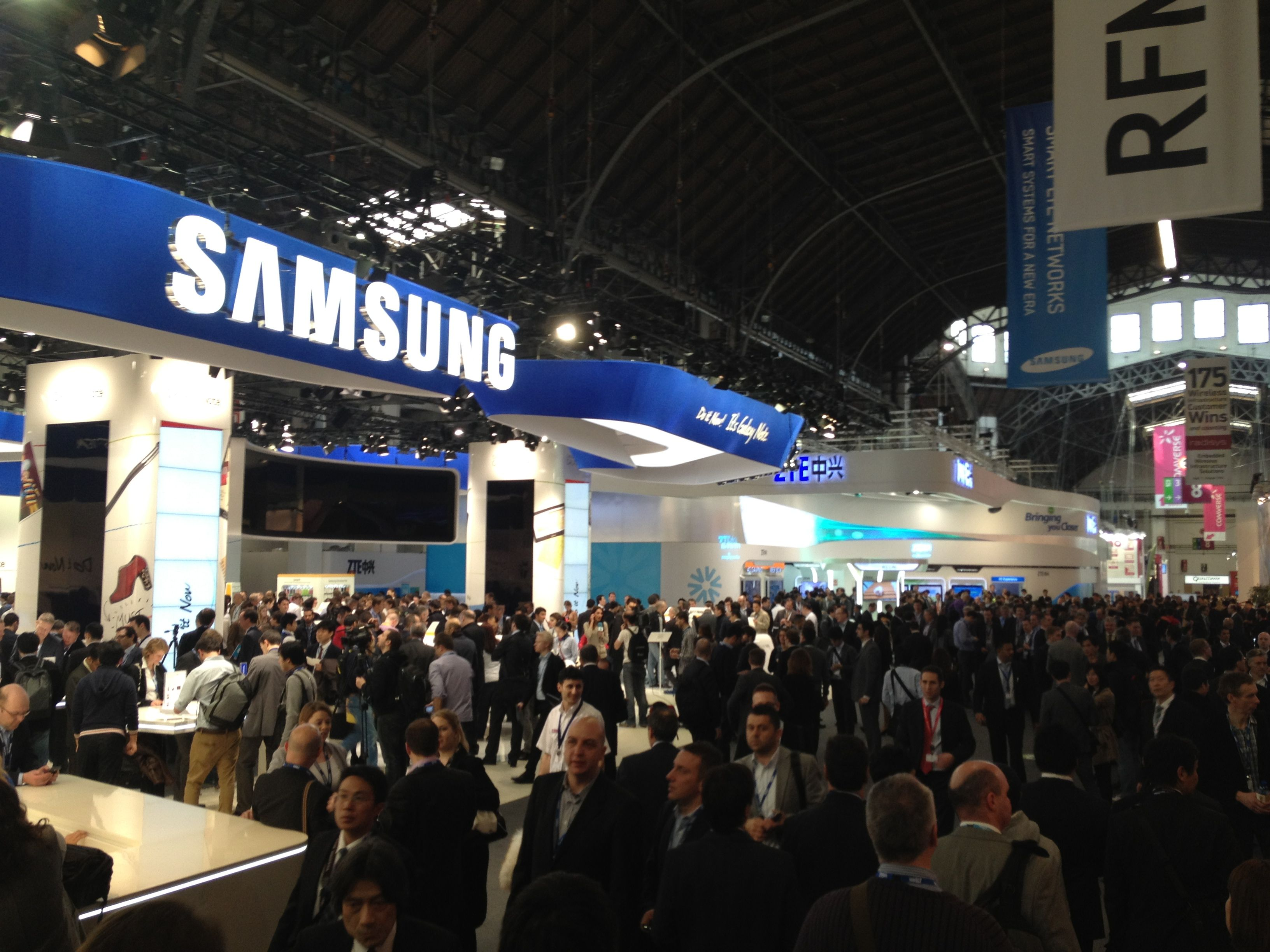 Day 1 at Mobile World Congress 2012