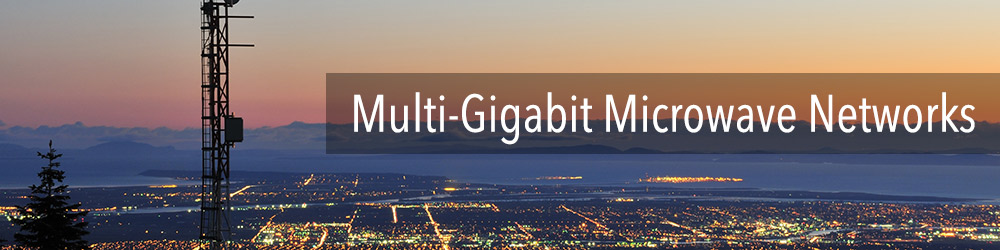 Multi-Gigabit Microwave Networks