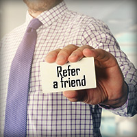 Earn Credits! Refer a Friend.