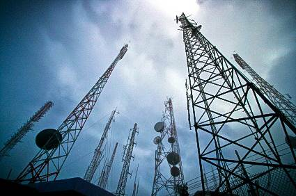 Microwave Transmission Image